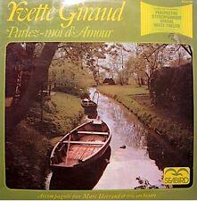 ++YVETTE GIRAUD parlez-moi d'amour 2LP'S SEABIRD l'ame des poetes/romance VG++