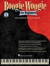Boogie Woogie for Beginners - Keyboard Instruction Book and CD NEW 000312559