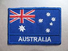 Australian Flag LARGE Iron On/ Sew On Cloth Patch Badge OZ Australia 7cm x 4.8cm