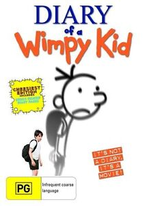 Diary Of A Wimpy Kid (DVD, 2011) NEW FREE POST