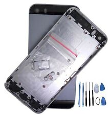 Metal Replace gray Battery Door Housing Back Cover Case For Iphone5S