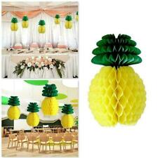 Decor Pineapple Ball Honeycomb Decoration Birthday Paper Pompoms Party Hanging