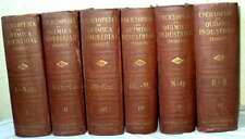 ENCICLOPEDIA DE QUIMICA INDUSTRIAL - EDWARD THORPE - COMPLETA ED. LABOR 1931 VER
