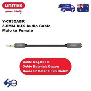 UNITEK (Y-C932ABK) 3.5MM AUX Audio Cable - Male to Female