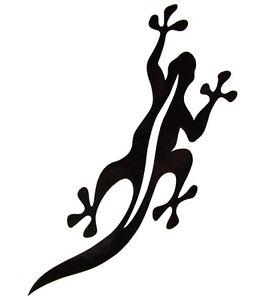 Black Salamander - Reverse Black - Logo Sticker - XSmall - R110 - New