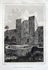 Granada ALHAMBRA ORIGINALE-ACCIAIO CHIAVE 1844 SPAGNA SPAIN Andalusia Andalucía