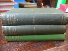 Aristophanes Translated By Benjamin Bickley Rogers 3 Vols 1924 & 1967