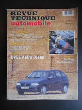 Revue technique automobile n°577 10/1995 Opel Astra diesel