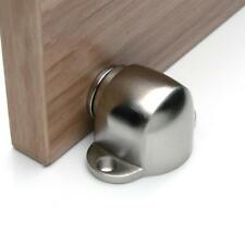 Stainless Steel Wall Floor Mount Hidden Door Stop Stopper Catch Holder Home