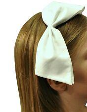 NEW Ivivva by Lululemon Girls Womens Bow-Tiful Headband True White Bow Washable