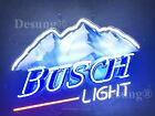"""New Busch Light Mountain Beer 24""""x20"""" Lamp Neon Sign With HD Vivid Printing"""