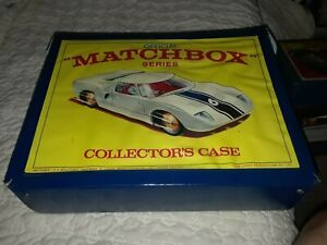 1968 Lesney Matchbox Collector Case