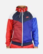 Nike Windrunner Jacket - MEDIUM - NEW - 902353-657 Top 3 Red Blue White Hoodie