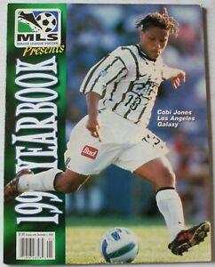 1999 MLS Major League Soccer Yearbook Cobi Jones Los Angeles Galaxy Cover