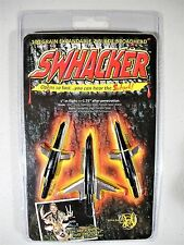 "Swhacker 100 Grain Expandable Bow Hunting 2 Blade Broad Heads 1.75 "" Cut 3 pack"