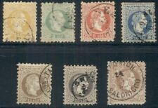 AUSTRIA-OFFICES IN TURKEY 1-7 COMPLETE SET USED, FINE, SCOTT $224.40