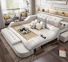 1 set Chayanne's Modern Bed w/ storage, Massage & Multifunctional bed