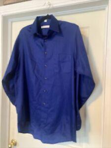 geoffrey beene mens dress shirt 15 1/2. 34/35