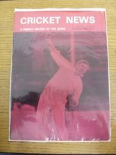 06/08/1977 Cricket News: Vol.01 No.14 - A Weekly Review Of The Game. Any faults