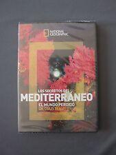 DVD NATIONAL GEOGRAPHIC - LOS SECRETOS DEL MEDITERRÁNEO Mundo Perdido Cousteau