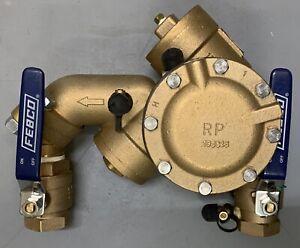 "NEW  FEBCO 825YA / 825 YA / 825Y Reduced Pressure Zone Backflow Preventer 1&1/2"""