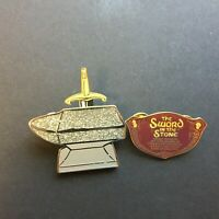 DLR Annual Passholder - The Sword in the Stone - 2 Pin Set Disney Pin 13383