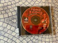 Tomb Raider II Starring Lara Croft (Sony PlayStation 1, 1997) Cleaned Tested