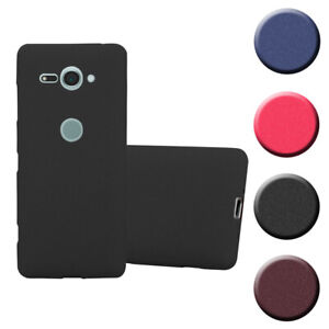 Silicone Case for Sony Xperia XZ2 Compact Shock Proof Cover Mat TPU Bumper