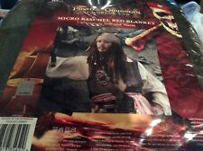 Pirates Of The Caribbean At World's End Micro Raschel Bed Blanket New