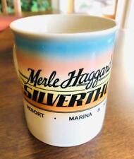 Vtg Merle Haggard'S Silverthorn Resort Mug/Cup ~ Smith Western Made In Japan Htf