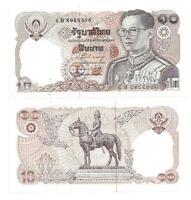 THAILAND 10 BAHT 1980 SIGN 58 UNC P 87
