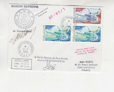 fr.antartic terri.,1985 three stamps on cover to france. f913