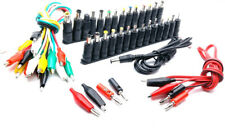Universal AC DC Jack Charger Connector /38pcs Set 1 Cable with Adapter Power