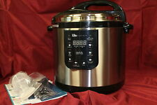 Elite Platinum EPC-1013 Maxi-Matic 10 Quart Electric Pressure Cooker, NEW, #N1