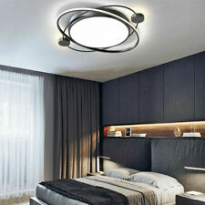 Nordic Modern LED Ceiling Light Planet 28W Dimmable Lamp Bedroom Kitchen Decor
