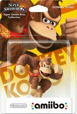 Nintendo Amiibo Donkey Kong Character Figure Super Smash Bros Wii U 3DS BrandNew