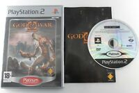 PLAY STATION 2 PS2 GOD OF WAR II PLATINUM COMPLETO PAL ESPAÑA