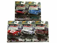 Hot Wheels Track Day Car Culture 1:64 Set 5 Fahrzeuge Real Riders NEU OVP