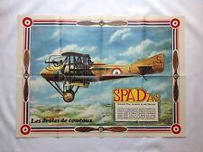 BD - Supplement Spirou 2098 Poster Spad A2 Aviation / DEVOS