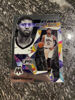 PAUL GEORGE 2019-20 Panini Mosaic STARE MASTERS SP Base Insert #20 LA Clippers