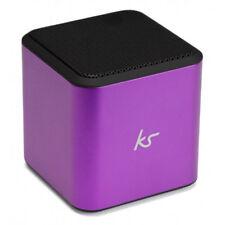 KitSound Cube Portable Bluetooth Speaker - Purple