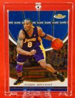 Topps Finest Kobe Bryant LA Lakers Jersey Fantastic Ultra Rare Blue Chrome Mamba