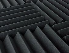 """Acoustic Foam 12 Pack Kit - Wedge 4"""" 24"""" x 24"""" covers 48sq Ft - SoundProofing"""