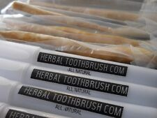 50-Pack Herbal Toothbrush / Miswak / Siwak / Fresh & Natural / With Cases