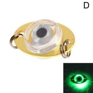 Fishing Light Night LED Underwater Fishing Light Lure For Attracting E6Y4 P3O2