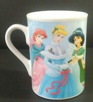 Disney Princesses Coffee Mug Cinderella Snow White Jasmin Belle 2008 FCC