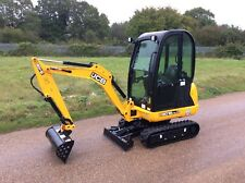 JCB 8018 CTS Mini Digger/Excavator c/w 3 buckets *ONLY 35 HOURS*