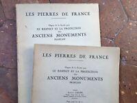 Rivista I Pietre Di Francia Achille Carlier Protezione Antichi Monumenti 1939