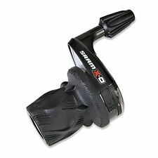 SRAM X0 Shifter - Grip Shift - 3 Speed Front