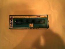 USED HO SCALE MARKLIN (6) STRAIGHT TRACK SECTIONS IN BOX #5106